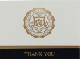 Gustavus Crested Thank You  Notes - 10Pk