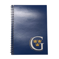 "G 7"" X 4.5"" Lined Notebook"