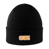 Hat Knit Cuff Gustavus North Pole Black