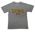 Youth T-Shirt Under Armour Gustavus Tech Gray