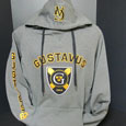 Hood Granite With 3 Locations Center Shield Gusties On Sleeve And Ga On Hood By Champion