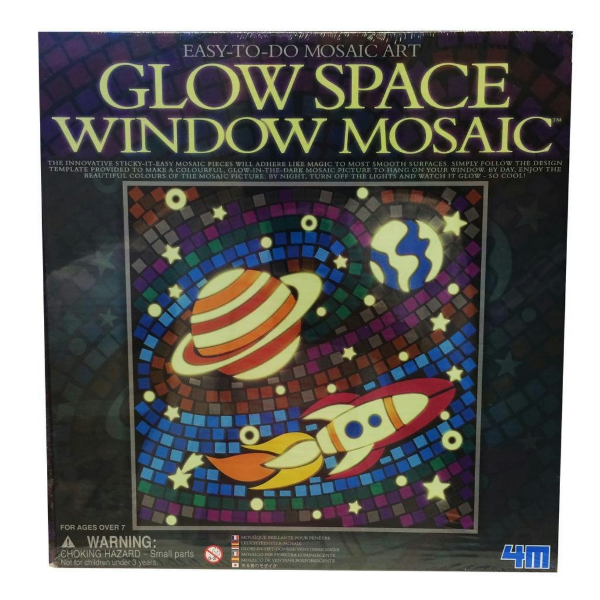 Glow Window Mosaic Kit Specify Desgin In Comments Upon Checkout