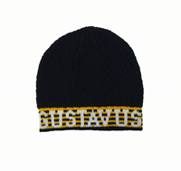 Cap Knit Black Knit In Gustavus