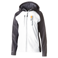 Women's Jacket Hood Soft Shell White / Carbon