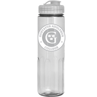 Water Bottle 24 Oz Clear
