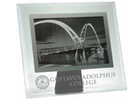 Glass Picture Frame With Gustavus Seal