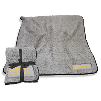 Blanket Sherpa Fleece W/ Black Trim