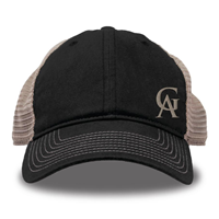 Cap Game Mesh Back Ga Black