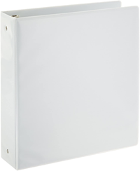 "Binder 1.5"" O-Ring White"