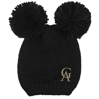 Hat Leia Double Pom GA Black