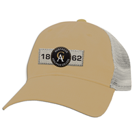 Cap Mv Trucker Mesh Gac Ga 1862 Patch Stone/Gold