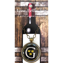 Custom Gustavus Wine Tag