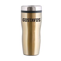 Travel Tumbler Gustavus Metallic Gold