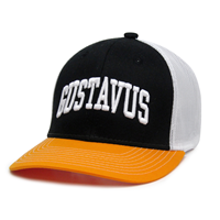 Cap The Game Gustavus Black / Gold / White