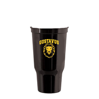 Cup Plastic Stadium Gustavus Gus Single Black