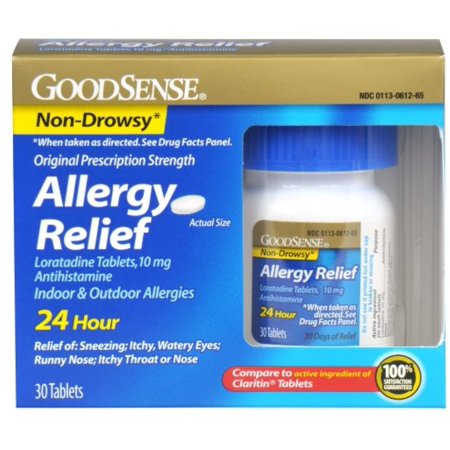 Allergy Relief Loratadine (SKU 1156037188)