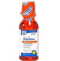 Cold Flu Day Liquid Non Drowsy Dayquil 8Oz Good Sense