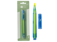 Highlighter Eco Chisel Tip Yellow