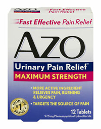 Azo Standard Tablets Max Strength