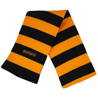 Scarf Heavyweight Gustavus Blk/Gold
