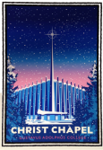 Artwork - Winter Christ Chapel By Mark Herman
