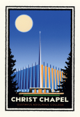 Artwork - Christ Chapel by Mark Herman