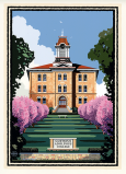 Artwork - Old Main By Mark Herman