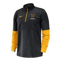 New!!   Black/Gold Nike Gustavus Half Zip