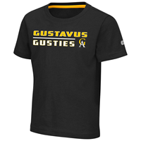 Toddler T-Shirt Colosseum Gustavus Gusties Black