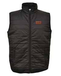 Vest Artisans Quilted Gustavus Patch Black