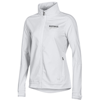 Women's Jacket Under Armour Softshell Gustavus Gusties On White